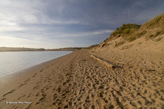 Desembocadura del Pas en las Dunas de Liencres - Cantabria por El Guisante Verde Project