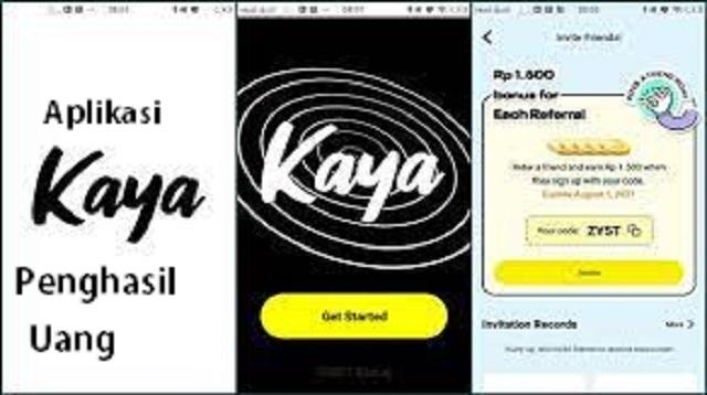Aplikasi Kaya Penghasil Uang