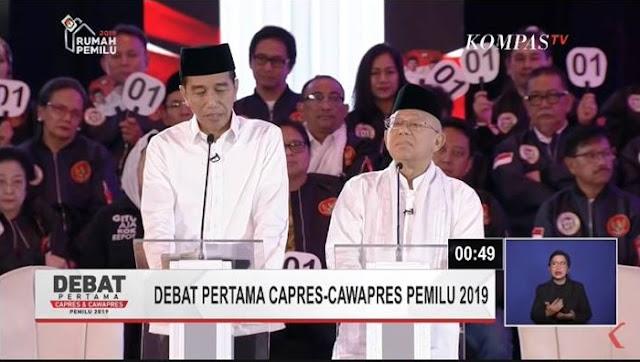 Tak Setuju Larang Bawa Catatan, Kubu Jokowi-Ma'ruf Masih Butuh 'Contekan'