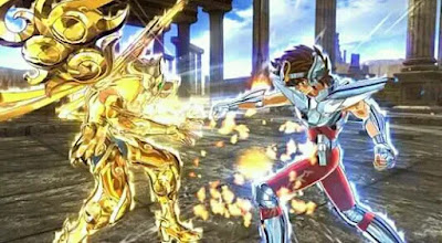Game Anime Untuk PC Saint Seiya: Soldiers Soul