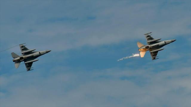 EEUU vende 66 cazas F-16 a Taiwán en plena tensión con China