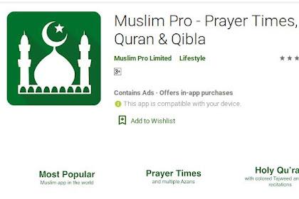 4 Aplikasi Android Islami Terbaik Untuk Motivasi Iman