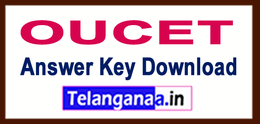 OUCET Answer Key 2018 Download