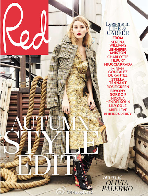 Socialite, Model, Actress, @ Olivia Palermo - Red UK September 2016