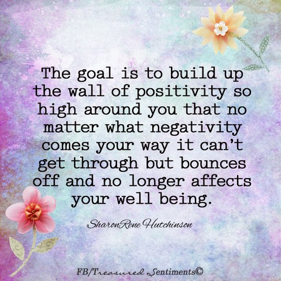 Inspirational Picture Quotes...: The Goal Is To Build Up