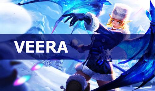 Veera hình như biến thành giữa những tướng mạnh nhất ở cuối trò chơi