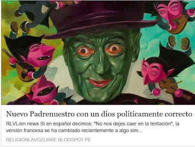 http://religionlavozlibre.blogspot.com/2017/12/nuevo-padrenuestro-con-un-dios.html