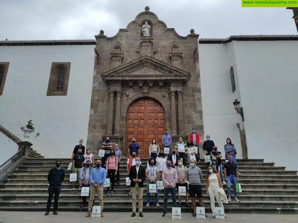 Fred. Olsen Express y el Cabildo de La Palma organizan un viaje promocional a la Isla Bonita con 30 agentes turísticos