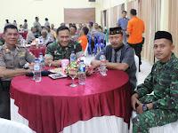 Buka Puasa Bersama TNI - POLRI, Forkopimda Merauke Jalin Kebersamaan