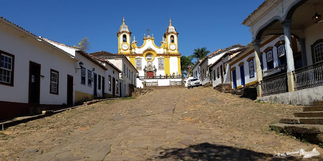 Estrada Real, Caminho Velho, Tiradentes, Igreja Matriz de Santo Antônio