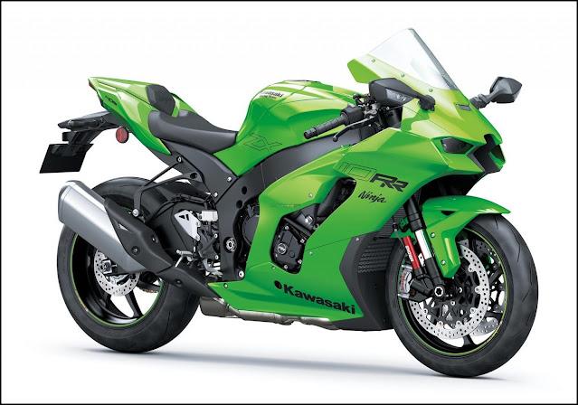 Ini Spesifikasi Kawasaki Ninja ZX-10R 2021, Wah Desainnya Jadi Buah Bibir !!!