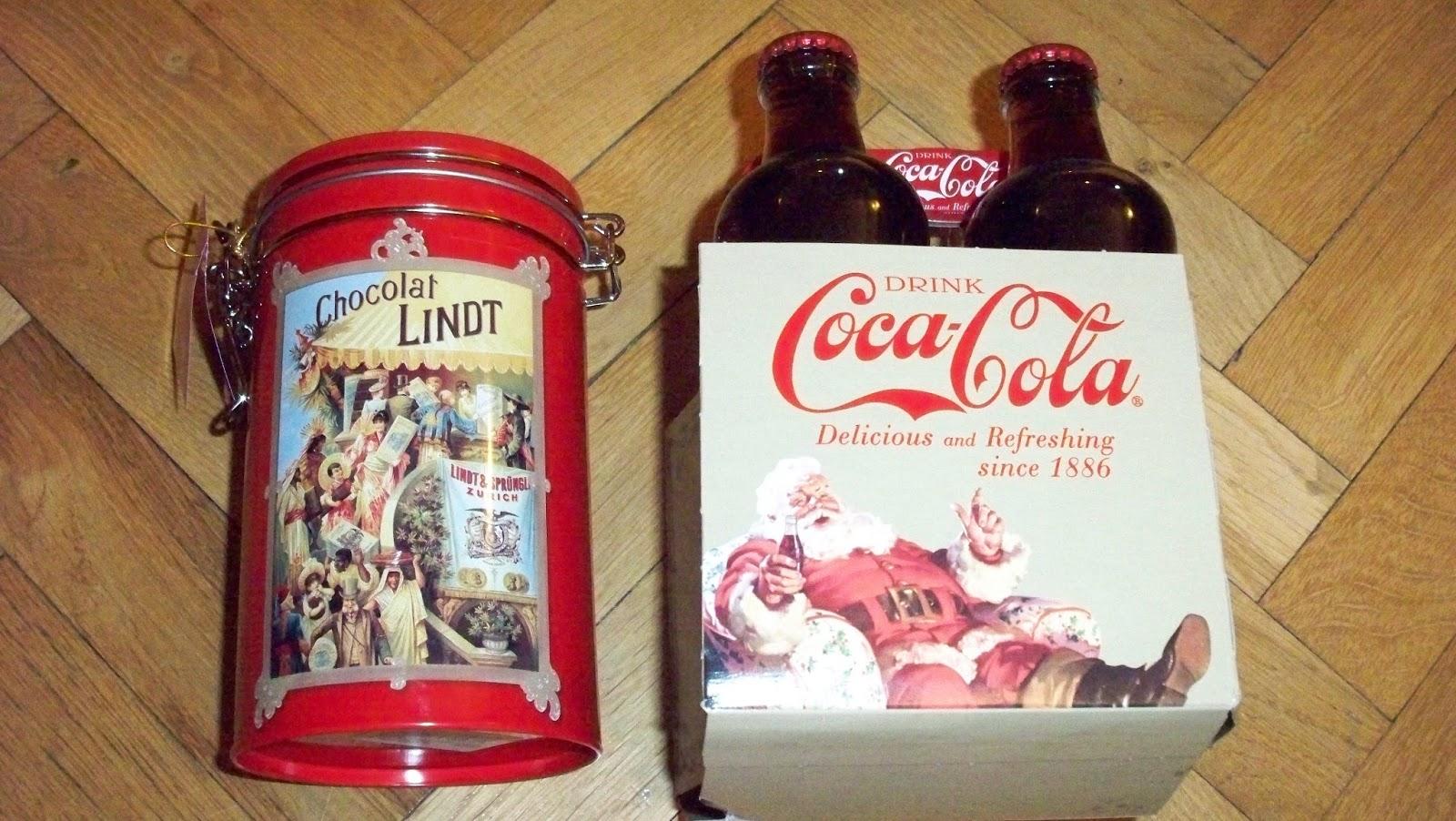 Mikołajkowy prezent od P. i limitka coca-cola