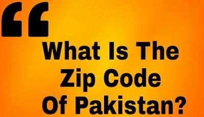 ZIP code Of Pakistan