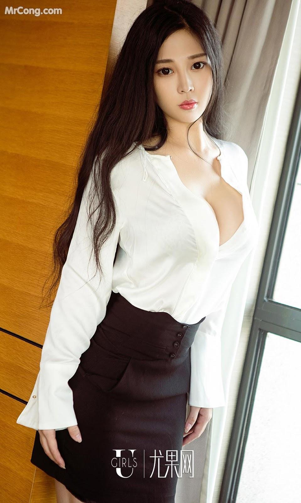 Image UGIRLS-Ai-You-Wu-App-No.1265-Wang-Shi-Shi-MrCong.com-005 in post UGIRLS – Ai You Wu App No.1265: Người mẫu Wang Shi Shi (王诗诗) (35 ảnh)