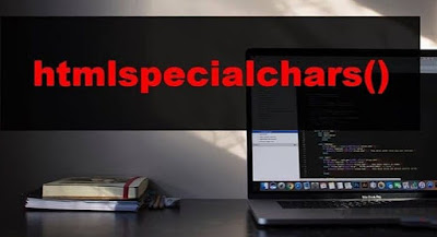 PHP htmlspecialchars() Function