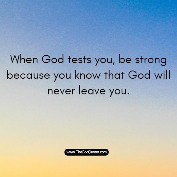 When God Tests You Quotes