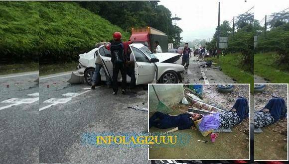Mayat bergelimpangan kemalangan ngeri di Gua Musang pagi tadi……Al-Fatihah Buat Mangsa Kemalangan