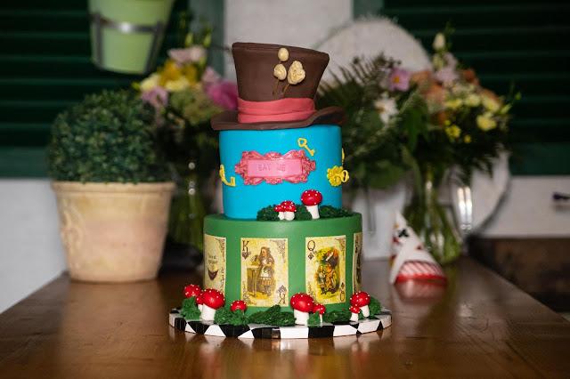 Alice im Wunderland Hochzeit
