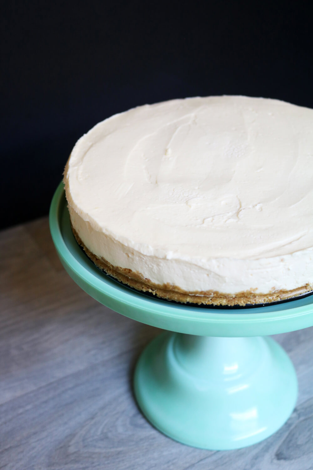 Custard Cream No Bake Cheesecake | Hungry Little Bear