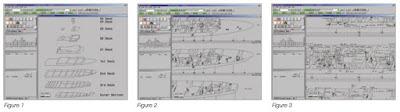 Рисунки изображений на экране консоли системы I2BMS