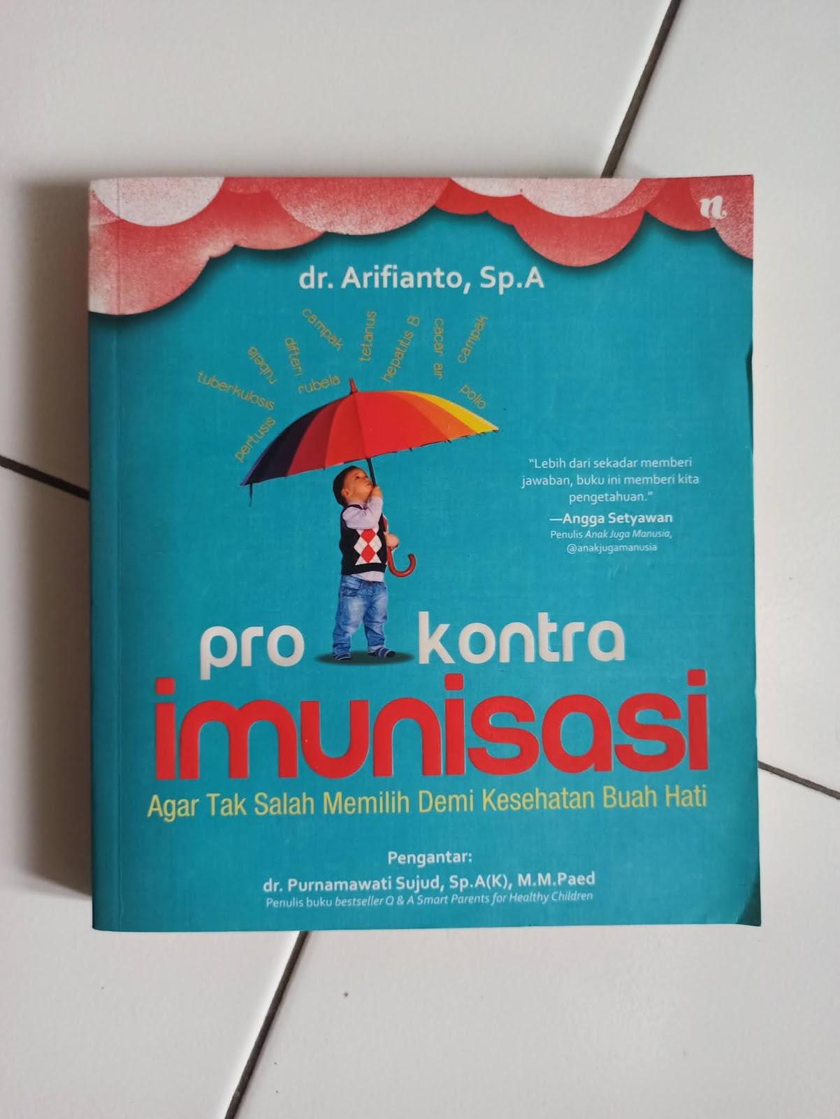Cover Depan Pro Kontra Imunisasi
