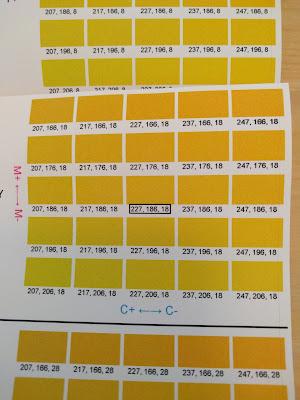 TM-C3500 Color Tone Matching