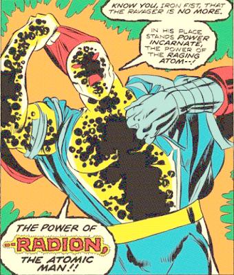Iron Fist #3, Radion revealed!