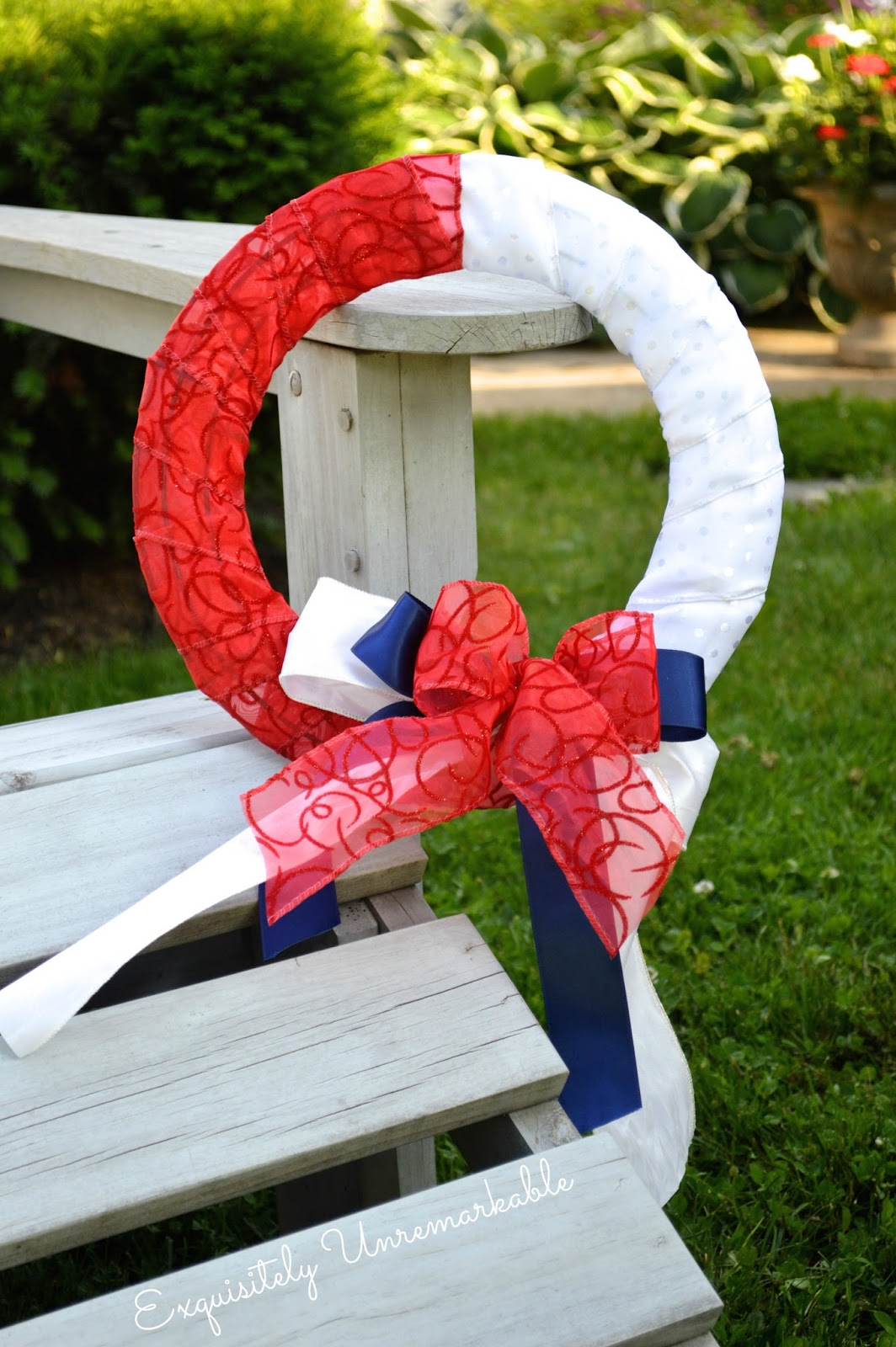 July Fourth Wreath