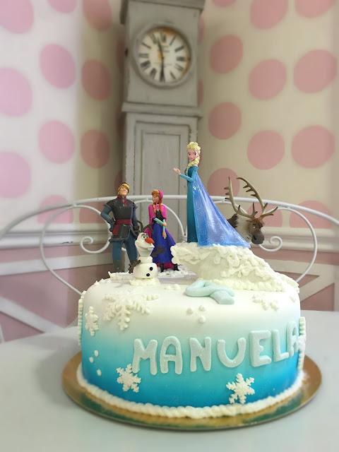 Tarta de cumpleaños Frozen Disney