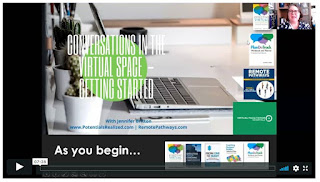 Getting Started in the Virtual Space