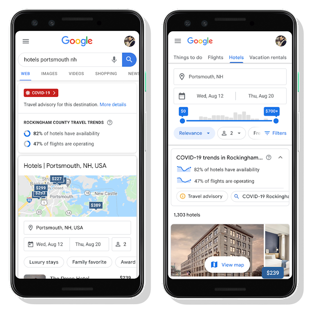 Google Added Travel Planning Feature In Its Search For Better Travel Post COVID-19