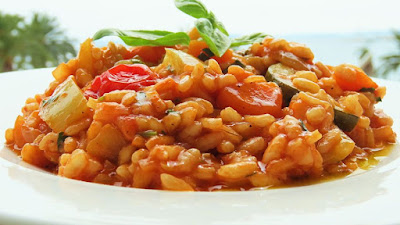 Mediteranski rižot s puno povrća / Mediterranean Vegetable Risotto