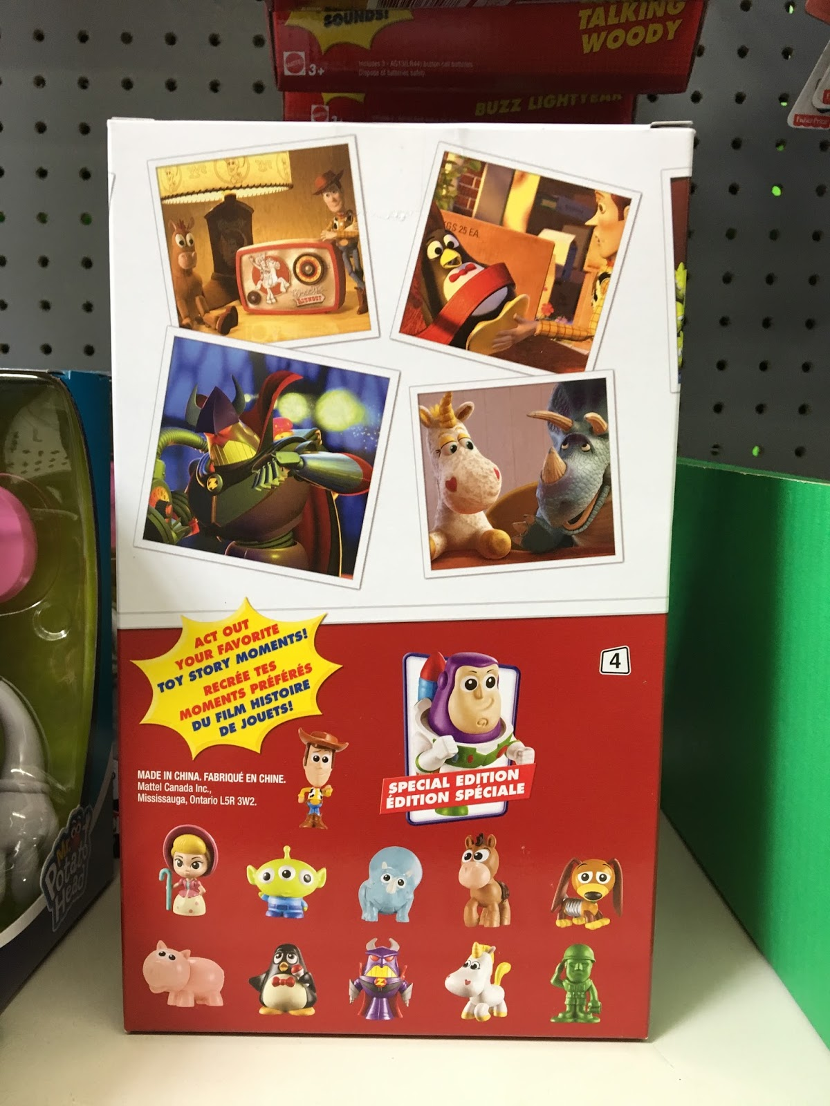 "Toy Story Mattel ""Minis"" Blind Packs Series 4"