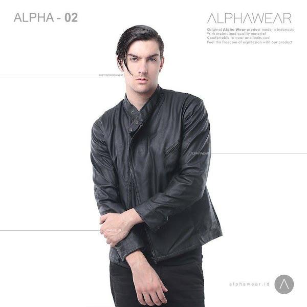alphawear groom leather jacket