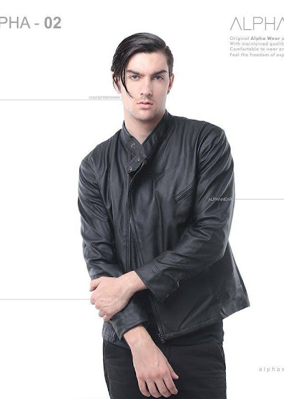 alphawear groom leather jacket