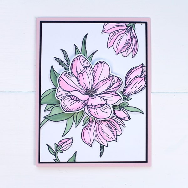 Handmade cards are so fun to make and these stunning floral cards look so fabulous. I am in love with flower stamps and love making floral themed cards.