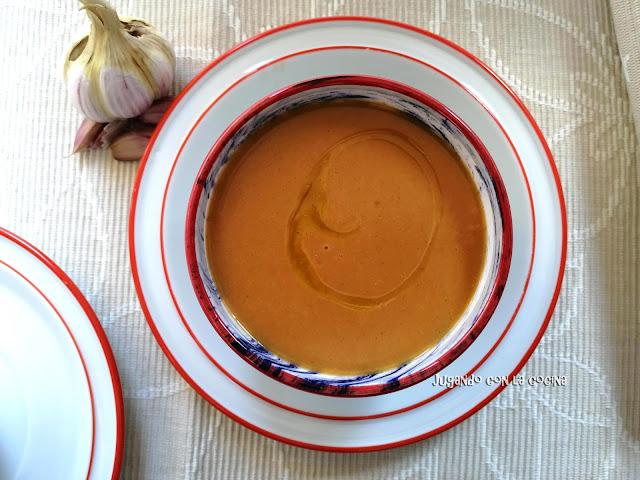 Crema De Sopa De Ajo