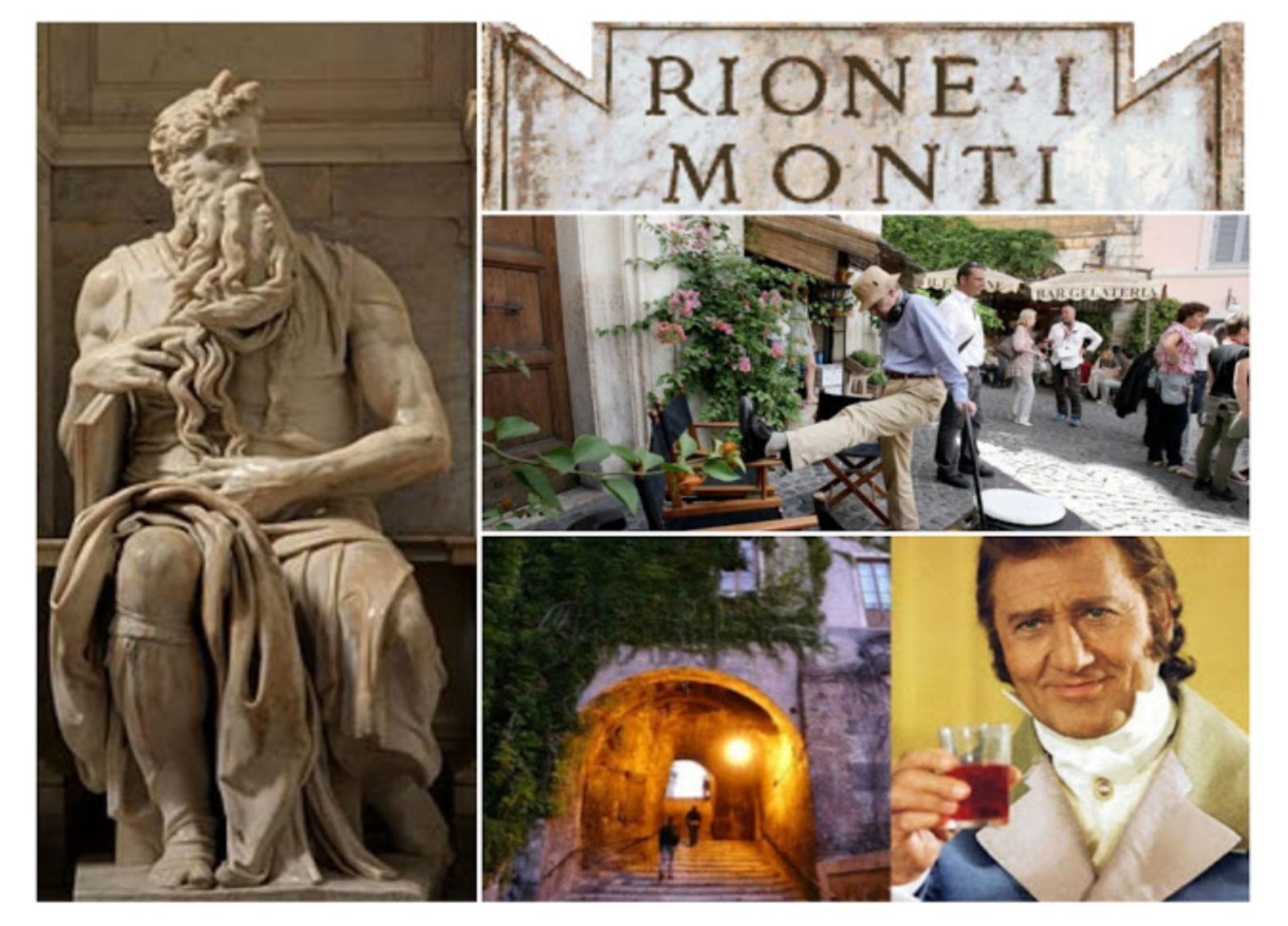Sabato 06/06/20, h 18.00 - Visita guidata - Rione Monti