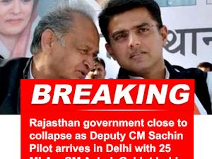 Is Sachin Pilot joining BJP?