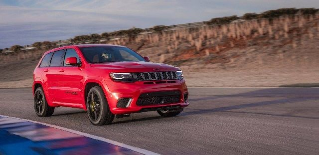 2018 Jeep Grand Cherokee Trackhawk Price and Release