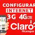 Configurar APN Claro Nicaragua Internet 3G y 4G LTE 2021