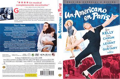 Un americano en París | 1951 | An American in Paris | Cover DVD, Caratula