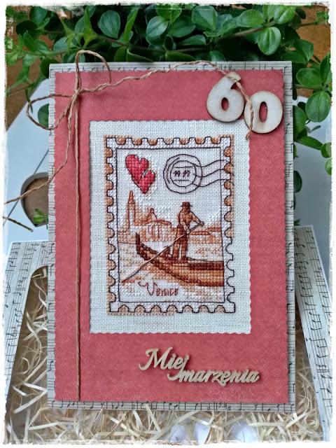 60-tka Marysi-kartka na urodziny.