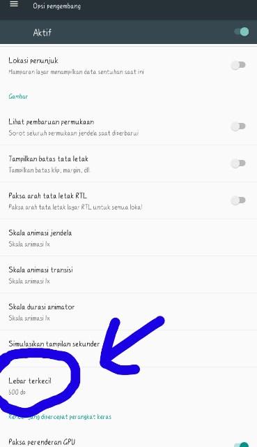 2 Cara Mengubah Resolusi Layar Di Hp Android Singgih Repairs