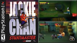 لعبة البلاى استيشن 1 جاكى شان Jackie Chan محوله  للكمبيوتر