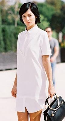 As camisas brancas vão ser um sucesso na próxima temporada.