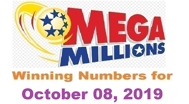 Mega Millions Winning Numbers for Tuesday, October 08, 2019