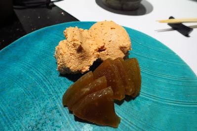 Shun X Sakemaru, monkfish liver