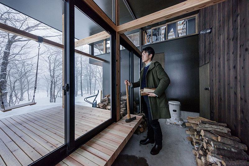 Sugawaradaisuke-02 Nojiri-ko Nature Platforms House by Sugawaradaisuke Design