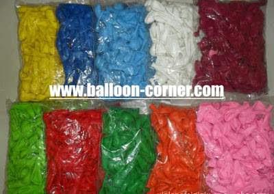 Balon Latex 5 Inchi Kualitas SUPER GRADE 'A'